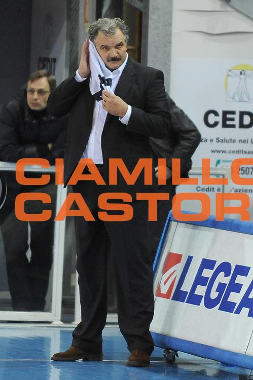 DESCRIZIONE : Rieti Lega A1 2008-09 Solsonica Rieti Snaidero Udine<br /> GIOCATORE : Romeo Sacchetti<br /> SQUADRA : Snaidero Udine <br /> EVENTO : Campionato Lega A1 2008-2009 <br /> GARA : Solsonica Rieti Snaidero Udine<br /> DATA : 18/01/2009<br /> CATEGORIA : Delusione<br /> SPORT : Pallacanestro <br /> AUTORE : Agenzia Ciamillo-Castoria/E.Grillotti