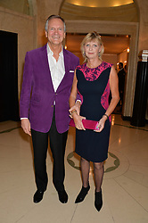 CHARLES & PANDORA DELEVINGNE at a Dinner to celebrate the launch of the Mulberry Cara Delevingne Collection held at Claridge's, Brook Street, London on 16th February 2014.
