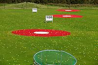 TEXEL- Cocksdorp-TEXELSE GOLF. Driving Range met targets. COPYRIGHT KOEN SUYK