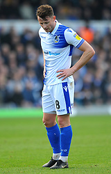 Ollie Clarke of Bristol Rovers shows a look of dejection - Mandatory by-line: Nizaam Jones/JMP - 23/02/2019 - FOOTBALL - Memorial Stadium - Bristol, England - Bristol Rovers v Sunderland - Sky Bet League One