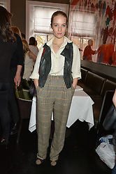 PETRA PALUMBO at the mothers2mothers Mother's Day Tea hosted by Nadya Abela at Morton's, Berkeley Square, London on 12th March 2015.  mothers2mothers is a charity working to eliminate mother to child transmission of HIV/AIDS across sub-Saharan Africa.
