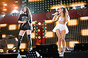 Ariana Grande performing at the iHeartRadio Jingle Ball 2014, hosted by Z100 New York at Madison Square Garden on December 12, 2014 in New York City.