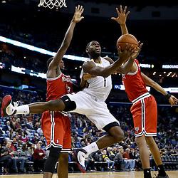 03-07-2014 Milwaukee Bucks at New Orleans Pelicans