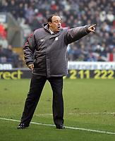 Photo: Paul Thomas.<br />Bolton Wanderers v Liverpool. The Barclays Premiership.<br />02/01/2006.<br />Liverpool manager Rafael Benitez.