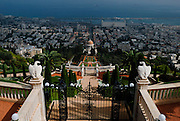 the Shrine of the Báb in Haifa, together with their surrounding gardens, associated buildings and monuments.