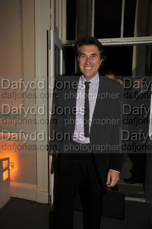 BRYAN FERRY, Nicky Haslam party for Janet de Bottona nd to celebrate 25 years of his Design Company.  Parkstead House. Roehampton. London. 16 October 2008.  *** Local Caption *** -DO NOT ARCHIVE-© Copyright Photograph by Dafydd Jones. 248 Clapham Rd. London SW9 0PZ. Tel 0207 820 0771. www.dafjones.com.