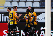 GOTHENBURG, SWEDEN - JULY 19: Nasiru Mohammed of BK Hacken celebrates after scoring to 1-1 during the UEFA Europa League Qualifier match between BK Hacken and FK Liepaja at Bravida Arena on July 19, 2018 in Gothenburg, Sweden. Photo by Nils Petter Nilsson/Ombrello ***BETALBILD***