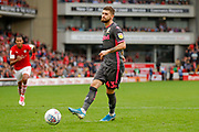 Leeds United midfielder Mateusz Klich (43) scores a penalty and scores a goal to make the  0-2 during the EFL Sky Bet Championship match between Barnsley and Leeds United at Oakwell, Barnsley, England on 15 September 2019.