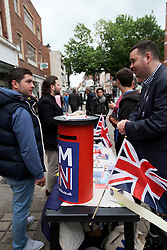 UK ENGLAND CANTERBURY 14MAY16 - The Vote Remain campaign stall at Canterbury High Street.<br /> <br /> jre/Photo by Jiri Rezac<br /> <br /> &copy; Jiri Rezac 2016