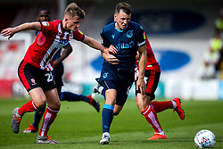 Ollie Clarke of Bristol Rovers takes on Callum Connolly of Lincoln City - Mandatory by-line: Robbie Stephenson/JMP - 14/09/2019 - FOOTBALL - Sincil Bank Stadium - Lincoln, England - Lincoln City v Bristol Rovers - Sky Bet League One