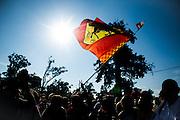 September 4-7, 2014 : Italian Formula One Grand Prix - Ferrari flag
