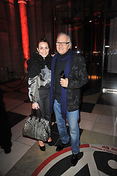 Actress NOOMI RAPACE and DAVID MONTGOMERY at a private view to celebrate the opening of the V&A's exhibition of Yohji Yamamoto fashion designs held on 10th March 2011.