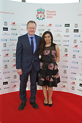 LIVERPOOL, ENGLAND - Thursday, May 12, 2016: Liverpool's xxxx and xxxx arrive on the red carpet for the Liverpool FC Players' Awards Dinner 2016 at the Liverpool Arena. (Pic by David Rawcliffe/Propaganda)