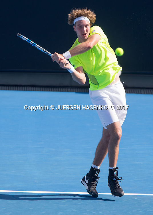JAN-LENNARD STRUFF (GER)<br /> <br /> Australian Open 2017 -  Melbourne  Park - Melbourne - Victoria - Australia  - 17/01/2017.
