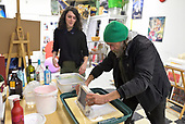 one ten park : Papermaking with Dennis