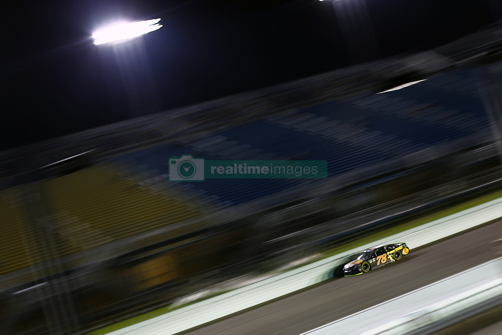 November 16, 2018 - Homestead, Florida, U.S. - Martin Truex, Jr (78) takes to the track to qualify for the Ford 400 at Homestead-Miami Speedway in Homestead, Florida. (Credit Image: © Justin R. Noe Asp Inc/ASP)
