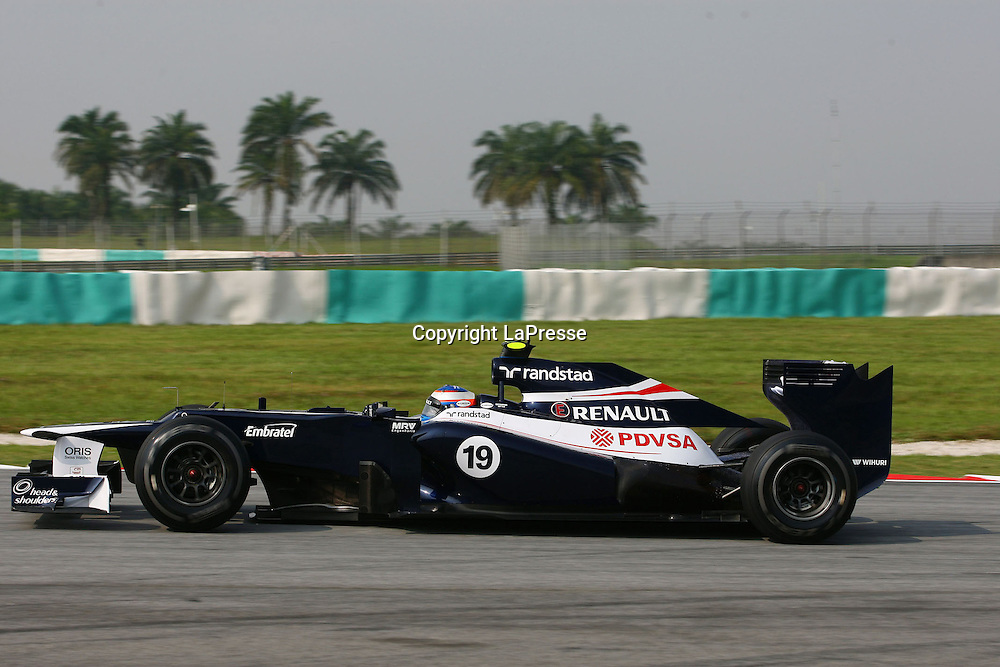 &copy; Photo4 / LaPresse<br /> 23/3/2012 Sepang<br /> Malaysian Grand Prix, Sepang 2012<br /> In the pic: Valtteri Bottas (FIN), Test Driver,Williams F1 Team FW34