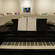"BRESCIA, ITALY - FEBRUARY 11:  A general view of a Jazz works by Matisse at the  Santa Giulia Museum on February 11, 2011 in Brescia, Italy. The exhibition ""Matisse La Seduzione di Michelangelo"" shows  180 works of the French artist and will stay open until June 12th 2011"