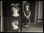 The barber shop slasher, the back-street abortionist and the 'parasite in a skirt': Vintage Australian mugshots reveal some of the country's earliest women criminals<br /> <br /> Haunting images of the past have emerged, showing vintage black and white portraits of Australian women.<br /> But these are no ordinary women. These are the not-so-innocent faces of convicted criminals who were put behind bars from the 1880s to 1930s.<br /> Among them include the infamous razor gangster and prominent madam of the times - Matilda 'Tilly' Devine.<br /> Others include backyard abortionists, drug dealers and those convicted of bigamy, drunkenness and theft.<br /> most of them were sent to the State Reformatory for Women, Long Bay - south of Sydney - which is now known as Long Bay Correctional Complex.<br /> <br /> <br /> Photo shows:  Marjorie Day alias Elma Walton, criminal record number 655LB, 13 February 1925. State Reformatory for Women, Long Bay.<br /> <br /> Marjorie Day convinced a shopkeeper to let her take two dresses home to show her mother. She promised to return promptly but instead sold the clothes at a second-hand clothing shop. A repeat offender, Day was sentenced to six months prison. Aged: 20. DOB: 11 January 1905.<br /> ©NSW Police Gazette/Exclusivepix