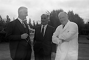 8/9/1964<br /> 9/8/1964<br /> 8 September 1964<br /> <br /> Mr. John Moore the Director of Urney Choclates and W&R  Grace & Company in New York, Mr Redmond Gallagher Chairman of Urney Chocolates, and Mr. T.A. Headon the Manging Dirctor of Urney Choclates