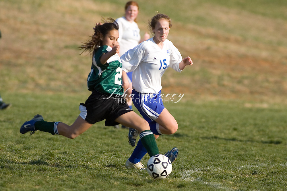 MCHS JV Girl's Soccer.vs Wilson.April 10, 2007
