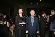 SIR TERENCE AND LADY CONRAN, V and A celebrates 150th anniversary. V and A. London. 26 June 2007.  -DO NOT ARCHIVE-© Copyright Photograph by Dafydd Jones. 248 Clapham Rd. London SW9 0PZ. Tel 0207 820 0771. www.dafjones.com.
