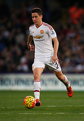 Ander Herrera of Manchester United in action  - Mandatory byline: Jack Phillips/JMP - 07966386802 - 31/10/2015 - SPORT - FOOTBALL - London - Selhurst Park Stadium - Crystal Palace v Manchester United - Barclays Premier League