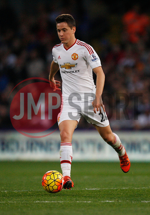 Ander Herrera of Manchester United in action  - Mandatory byline: Jack Phillips/JMP - 07966386802 - 31/10/2015 - SPORT - FOOTBALL - London - Selhurst Park Stadium - Crystal Palace v Manchester United - Barclays Premier League