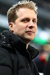 15.12.2011, AWD Arena, Hannover, GER, UEFA Europa League, GER, UEFA EL, Gruppe B, Hannover 96 (GER) vs FC Vorskla Poltava (UKR), im Bild Olli Pocher (Sky Moderator) // during the Europa Leaque football match Hannover 96 (GER) vs FC Vorskla Poltava (UKR), group b, at AWD Arena,  Hannover, GER, on 2011/12/15. EXPA Pictures © 2011, PhotoCredit: EXPA/ nph/ SielskiSielski..***** ATTENTION - OUT OF GER, CRO *****