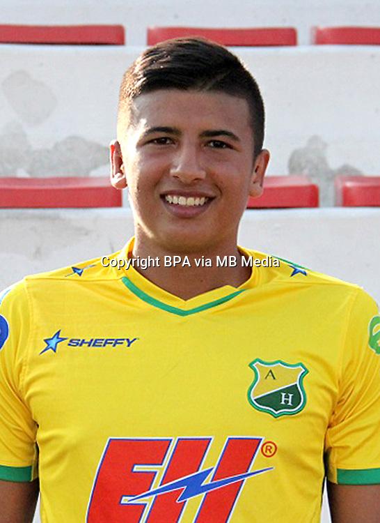 Colombia League - Liga Aguila 2015-2016 - <br /> Club Deportivo Atletico Huila - Colombia / <br /> Francisco Jose Rosero Pinzon