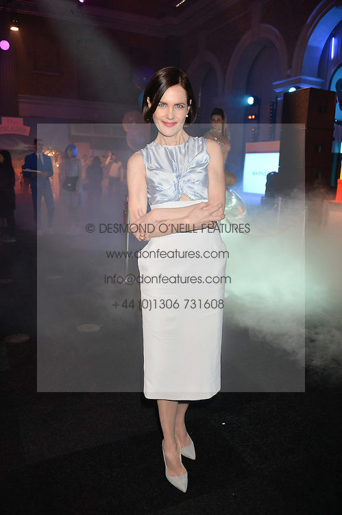 ELIZABETH McGOVERN at The Naked Heart Foundation's Fabulous Fund Fair hosted by Natalia Vodianova and Karlie Kloss at Old Billingsgate Market, 1 Old Billingsgate Walk, London on 20th February 2016.