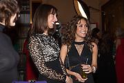 SAMANTHA CAMERON; MYLENE KLASS, The Secret Winter Gala in aid of Save the Children and sponsored by Bulgari. Guildhall. London. 26 November 2013