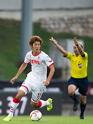 22.07.2015, Grenzland Stadion, Kufstein, AUT, Testspiel, 1. FC Köln vs RCD Espanyol Barcelona, im Bild v.l. Yuya Osako (1. FC Koeln) // during the International Friendly Football Match between 1. FC Cologne and RCD Espanyol Barcelona at the Grenzland Stadion in Kufstein, Austria on 2015/07/22. EXPA Pictures © 2015, PhotoCredit: EXPA/ Johann Groder