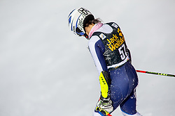 TOMSIC Nika of Slovenia reacts during the Ladies' GiantSlalom at 56th Golden Fox event at Audi FIS Ski World Cup 2019/20, on February 15, 2020 in Podkoren, Kranjska Gora, Slovenia. Photo by Matic Ritonja / Sportida