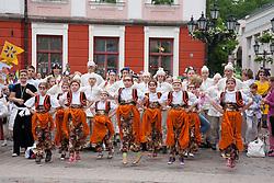 Children Dancing, Tartu Town Hall, Estonia, Europe