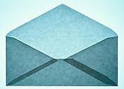 open empty envelope