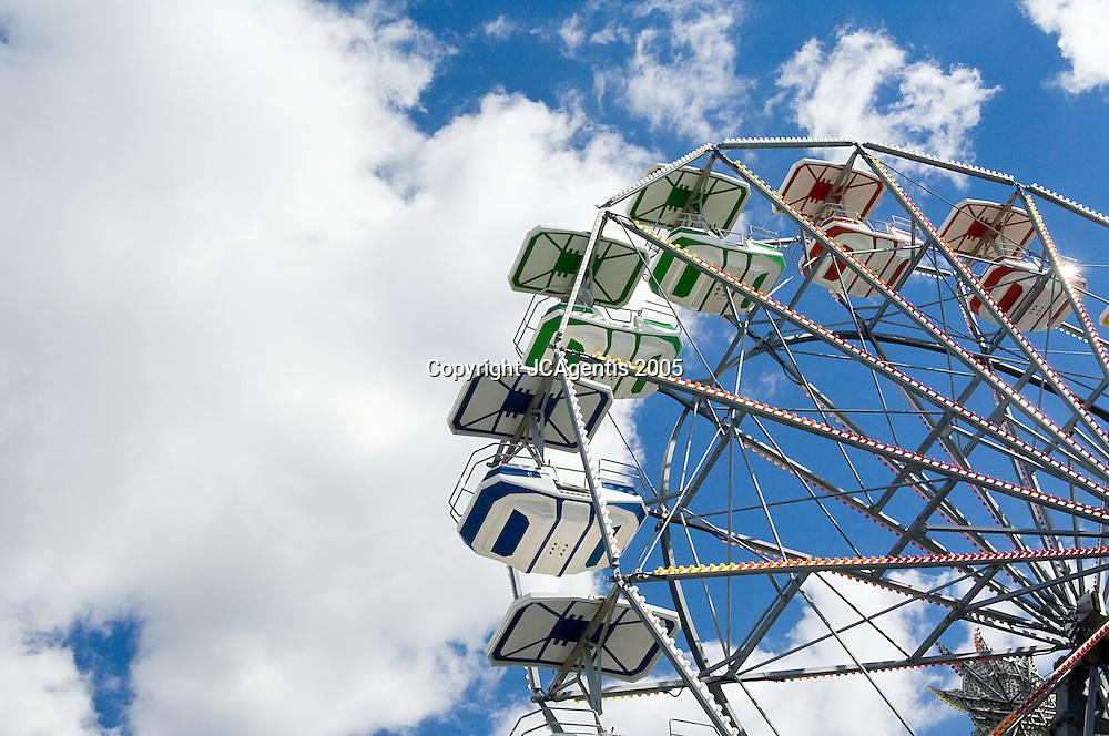 Ferris Wheel on Steel Pier Atlantic City, New Jersey. October 15, 2005