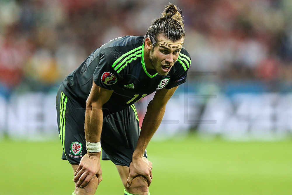 LYON, FRANCE, 07.06.2016 - PORTUGAL- WALES - Gareth Bale of Wales during the match against Portugal, valid for the semi-finals of Euro 2016 at the Grand Stade de Decines-Charpieu near Lyon, France, on this Wednesday (6).