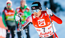 29.01.2017, Casino Arena, Seefeld, AUT, FIS Weltcup Nordische Kombination, Seefeld Triple, Langlauf, im Bild Akito Watabe (JPN) // Akito Watabe of Japan during Cross Country Gundersen Race of the FIS Nordic Combined World Cup Seefeld Triple at the Casino Arena in Seefeld, Austria on 2017/01/29. EXPA Pictures © 2017, PhotoCredit: EXPA/ JFK