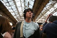 Mobile: check. Ipod: check. Unfeasibly large headphones: chigetty-check. Flashclub is go! It's 18.53 at Victoria Station, thousands of clubbers appear in the station main hall and start dancing to the sound of their own stereo. It's mobile clubbing!