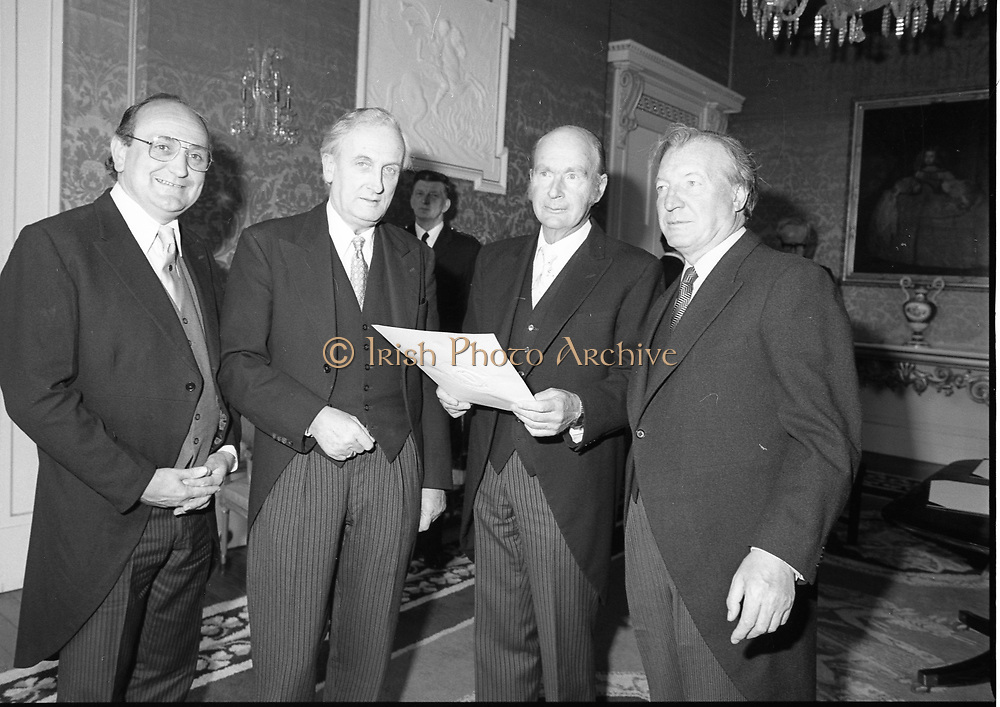 Gerry Collins American Embassy Reception to celebrate 4th July 3-7-1981
