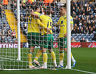 Picture by Paul Chesterton/Focus Images Ltd.  07904 640267.28/01/12.Grant Holt of Norwich City opens the scoring and celebrates during the FA Cup fourth round match at The Hawthorns Stadium, West Bromwich.