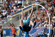 Renaud Lavillenie (FRA) competes in Men's Pole Vault during the Meeting de Paris 2018, Diamond League, at Charlety Stadium, in Paris, France, on June 30, 2018 - Photo Jean-Marie Hervio / KMSP / ProSportsImages / DPPI