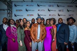 October 11, 2016 - Nashville, Tennessee, USA - Anthony Brown & group therAPy at the 47th Annual GMA Dove Awards  in Nashville, TN at Allen Arena on the campus of Lipscomb University.  The GMA Dove Awards is an awards show produced by the Gospel Music Association. (Credit Image: © Jason Walle via ZUMA Wire)
