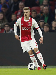 Daley Sinkgraven of Ajax during the international friendly match between Ajax Amsterdam and Borussia Mönchengladbach at the Amsterdam Arena on November 21, 2017 in Amsterdam, The Netherlands
