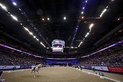 Dressage arena<br /> Grand Prix Freestyle<br /> FEI World Cup Dressage Final, Omaha 2017 <br /> © Hippo Foto - Dirk Caremans<br /> 01/04/2017