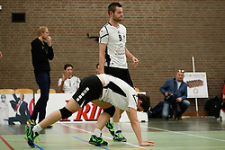 20170225 NED: Eredivisie, Valei Volleybal Prins - Coolen - Alterno: Ede<br />Verslagenheid bij oa Peter Te Molder en Niek Tijhuis of Coolen Alterno<br />©2017-FotoHoogendoorn.nl / Pim Waslander