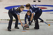 Glasgow. SCOTLAND. Le Gruyère European Curling Championships. 2016 Venue, Braehead  Scotland<br /> Sunday  20/11/2016<br /> <br /> [Mandatory Credit; Peter Spurrier/Intersport-images]