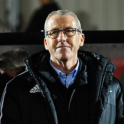 19/3/2019 - Wales boss Mark Jones during the C International between England and Wales at the Peninsula Stadium, Salford.<br /> <br /> Pic: Mike Sheridan/County Times<br /> MS023-2019