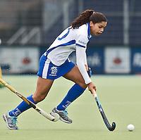 UTRECHT - Den Bosch speelster Marsha Marescia zondag tijdens de competitiewedstrijd tussen de vrouwen van Kampong en Den Bosch (0-1) FOTO KOEN SUYK